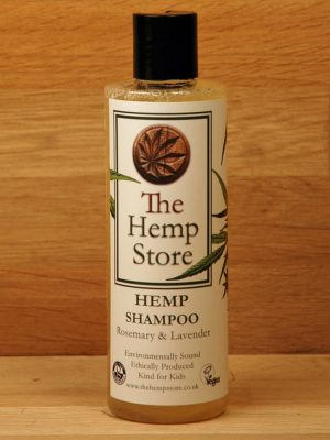Organic Shampoo with Hemp Rosemary and Lavender