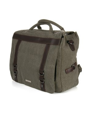 Hemp briefcase shoulder bag