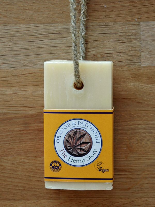 Hemp Soap on a Rope