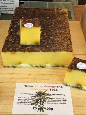 moisturising hemp soap
