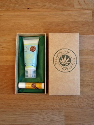 hemp body care set