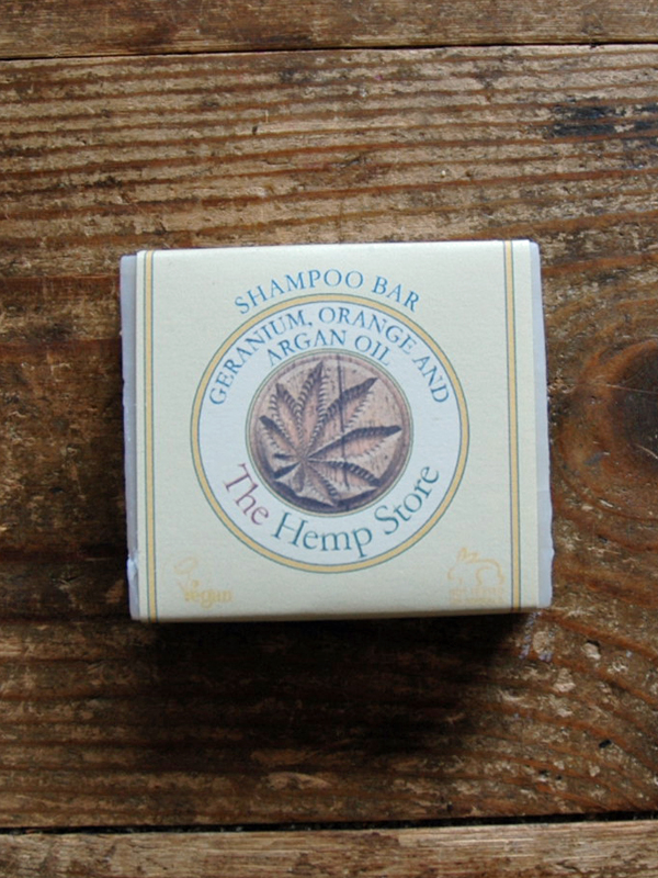 Hemp Geranium Orange and Argon Oil Shampoo Bar