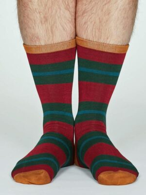 bold stripe socks