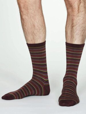 narrow stripe socks