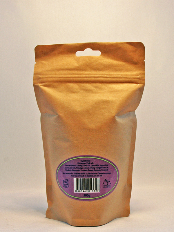 pouch of salts back